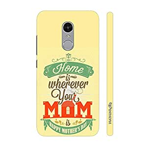 Enthopia Designer Hardshell Case Mom is Home Back Cover for Xiaomi Redmi Note 4