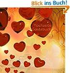 Hochzeits G�stebuch - Rote Herzen: Pl...