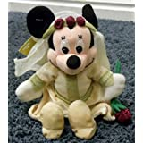 "Disney Mickey Mouse Sweetheart Romeo & Juliet Minnie Mouse Juliet 8"" Plush Bean Bag Doll"
