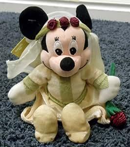"Disney Mickey Mouse Sweetheart Romeo & Juliet Minnie Mouse Juliet 8"" Plush Bean Bag Doll"