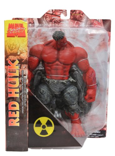 Marvel Select: Online Exclusive 'Red' Hulk Action Figure