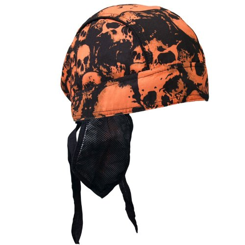 Hot Leathers Ancient Skulls Premium Headwrap