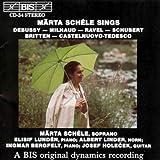 Various Composers Märta Schéle Sing s