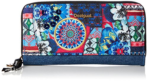 Desigual zip around culture club, porte-monnaie...