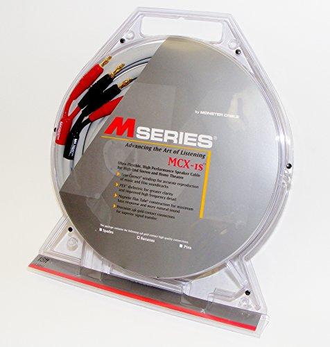 Monster M Series Mcx-1S M Bananas Speaker Cable (15 Ft. Pair)