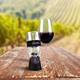 SPRETZO Elite Wine Aerator ★ Latest 5-STAR Design ★ Hassle-Free 100% Money-Back LIFETIME GUARANTEE ★ Innovative & Superior Globally Patented 3-Stage Aeration Process ★ Professionally Designed Specifically For Red Wine ★ Performs Better Than Single-Stage Aerators Decanters and Spout Pourers ★ Used By Sommeliers and Restaurants ★ FDA Certified and Food Safe ★ Beautiful Presentation Gift Box ★ Makes The Perfect Gift ★