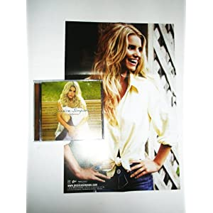 Jessica Simpson Do You Know Cd+ Poster