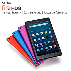 All-New Fire HD 8 Tablet, 8 HD Display, Wi-Fi, 32 GB - Includes Special Offers, Black