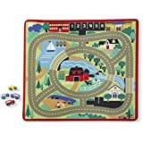 "Melissa & Doug Round the Town Road Rug - 39"" x 36"""