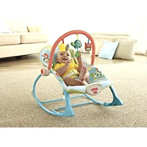 Fisher Price Infant-to-Toddler Rocker - Turtle