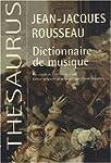 Dictionnaire de musique : Fac-simil�...