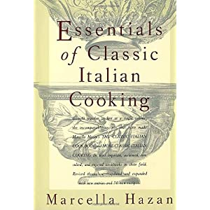 Click to buy Italian Cookbooks: Essentials of Classic Italian Cooking from Amazon!