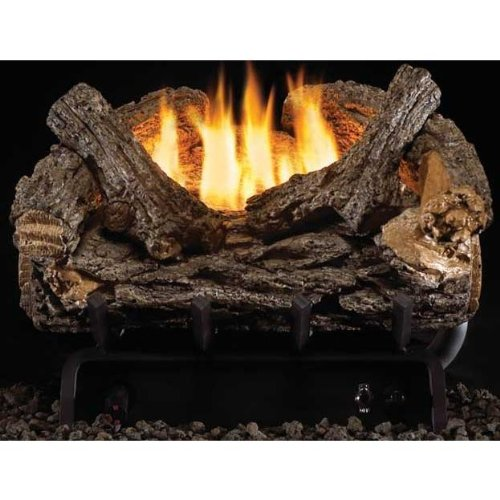 16 Inch Valley Oak Vent-Free Gas Log Set