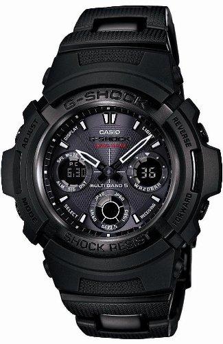 [カシオ]CASIO 腕時計 G-SHOCK ジーショック Black × Gray Series タフソーラー 電波時計 MULTIBAND 5 AWG-100BC-1CJF メンズ