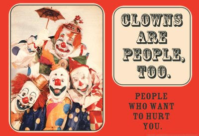 COULROPHOBIA: The Fear Of Clowns Phobia Name  Coulrophobia