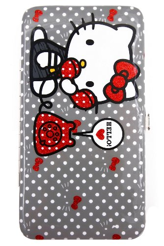 Hello Kitty Red Phone Hinge Wallet