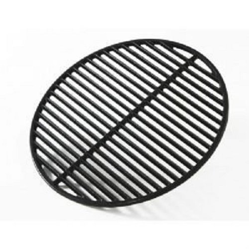 Big Green Egg Grill and Smoker Cast Iron Half Moon Grid, Large, 18-Inch (Big Green Egg Cooker Large compare prices)