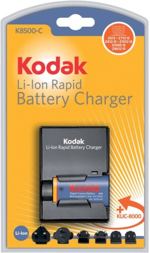 Kodak Digital Camera Battery Charger K8500-C