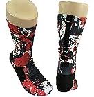 Custom Nike Elite Lebron Graffiti Socks Large