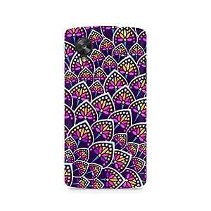 Mobicture Pattern Cross Premium Printed Case For LG Nexus 5
