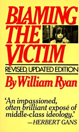 blaming the victim william ryan essay
