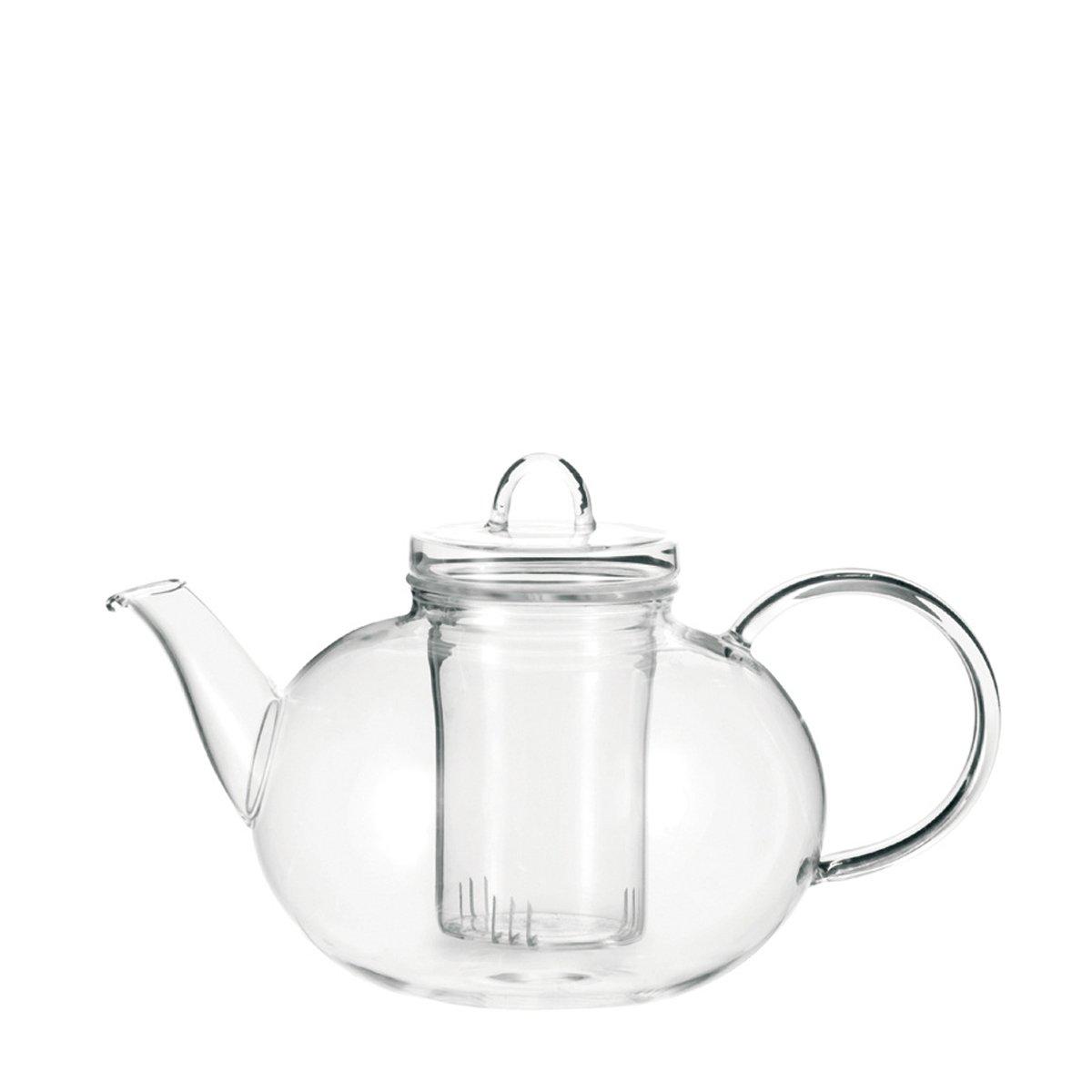 Leonardo Balance - Tetera con filtro para té, transparente   más noticias y comentarios