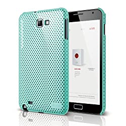 elago G4 Breathe Case for Galaxy Note - Coral Blue + HD Professional film(Compatible with at&t Only)