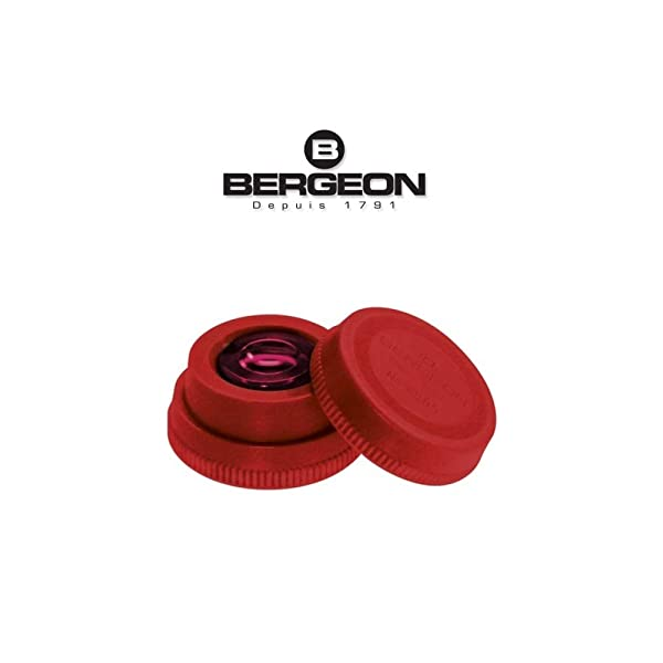 Bergeon 6885-R Red Oil Cup with Red Inner Glass Tool