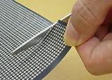 超薄型 両面 ユニバーサル基板(黒)  t=0.4mm  230x320mm 金フラッシュ