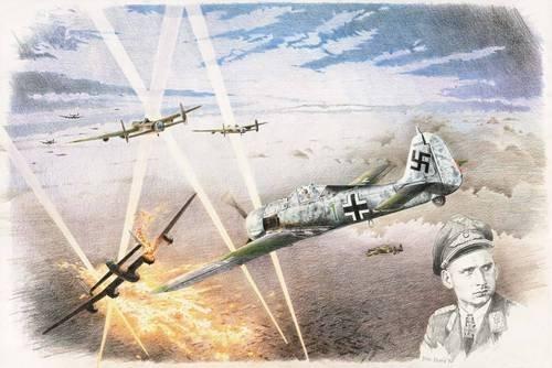 """1/35 フォッケウルフFw190A-6""""第300戦闘航空団ハヨ・ヘルマン大佐""""[RK001]"""