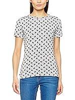 MOE Camiseta Manga Corta 171 (Gris / Negro)