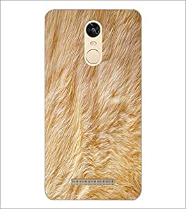 PrintDhaba Fur D-2037 Back Case Cover for XIAOMI REDMI NOTE 3 PRO (Multi-Coloured)