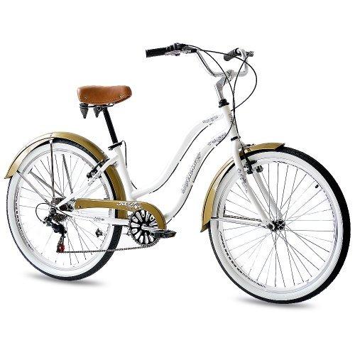Bicicleta Custom Cruiser urbana estilo retro