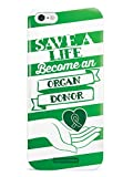 Inspired Cases 3D Textured Save a Life, Become an Organ Donor Case for iPhone 6 & 6s