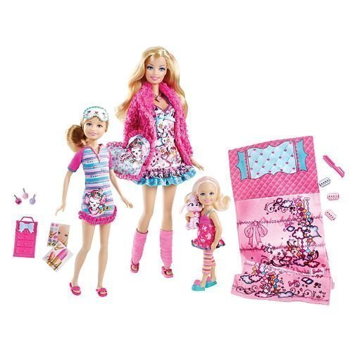 New Barbie Sisters Slumber Party Set by Mattel