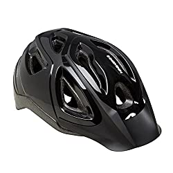 B'TWIN 300 CYCLING HELMET - BLACK