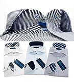 (メンズ ウーノ)men's uno ジャパンブランド ud L-スマート 3枚セット ワイシャツセット おしゃれ ボタンダウン ホリゾンタル yシャツ