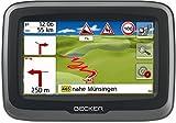 Becker mamba.4 CE LMU Motorrad-Navigationsgerät  Display