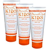 BurnOut Sunscreen SPF 35 KIDS Broad Spectrum, 3.4 oz. 3-Pack