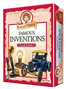 Educational Trivia Card Game - Professor Noggin's Famous Inventions