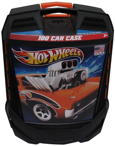 Hot Wheels 100 casos de coches