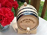 2 Liter Mini-oak Whiskey Barrel - Groomsmen Gift - Birthday Gift - Anniversary Gift - Father's Day Gift - Personalized Gift