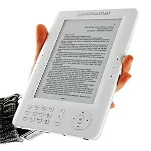 "Diunamai eBook Reader 6"" 8GB USB MP3 JPEG WD-N50 White"