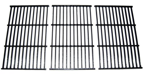 Rectangular Porcelain Coated Cast Iron Cooking Grids (Set of 3)