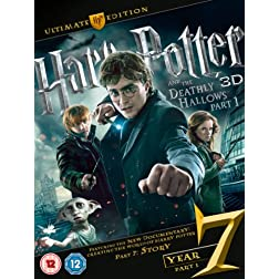 Harry Potter & The Deathly Hallows-Part 1 [Blu-ray]