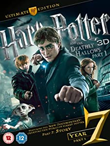 Harry Potter And The Deathly Hallows: Part 1 - Ultimate Edition (Blu-ray 3D + Blu-ray + DVD) [Region Free]