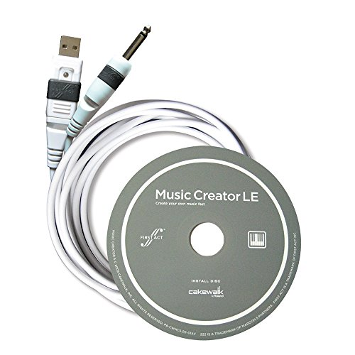 First Act MX901 USB Guitar Cable and Software