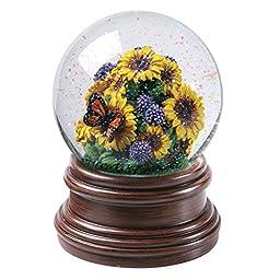 Sunflowers Musical Water Snow Globe - Plays \