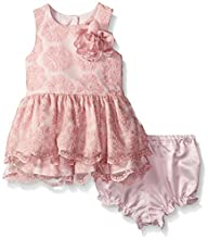 Pippa & Julie Baby-Girls Lace Party D…
