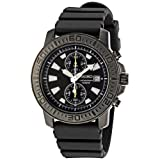 Seiko Men's SNN205 Sport Black Dial Watch
